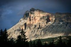Dolomia di Val Badia Fotografie Stock