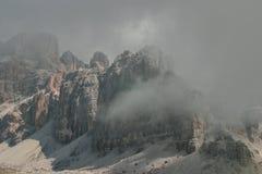 Dolomia, Italia Fotografie Stock