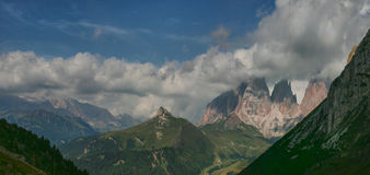 Dolomia, Italia Fotografia Stock