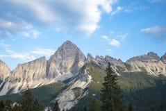 Dolomia Italia delle montagne immagine stock