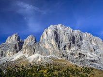 Dolomia, passaggio Tirolo del sud, Italia di Sella Immagine Stock Libera da Diritti