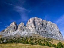 Dolomia, passaggio Tirolo del sud, Italia di Sella Fotografie Stock