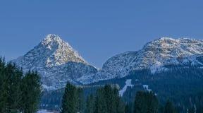 Dolomia superiori della montagna Fotografie Stock