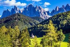 Dolomia, Tirolo Fotografie Stock Libere da Diritti