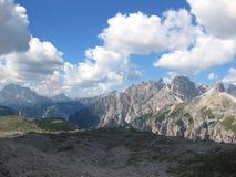 Dolomia Tirolo del sud, paesaggio dell'Italia Fotografia Stock Libera da Diritti