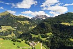 Dolomia - valle di Cordevole Immagini Stock Libere da Diritti