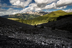 Dolomiet in de zomer Royalty-vrije Stock Foto