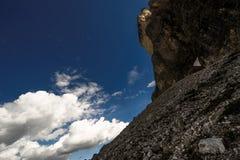 Dolomiet in de zomer Royalty-vrije Stock Foto's