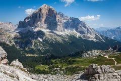 Dolomiet - Italië Royalty-vrije Stock Foto's