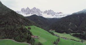 Dolomiet Italiaanse Alpen stock video