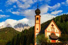 Dolomitów Alps Włoskie góry zdjęcie royalty free