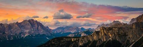 Dolomitów Alps Włochy fotografia royalty free