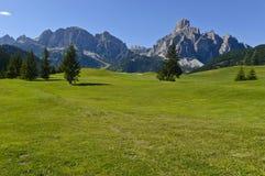 Dolomitów gór krajobraz Zdjęcie Stock