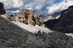 Dolomit Stockfoto