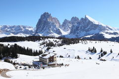 Dolomit-Alpen Stockfotografie