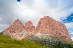 DOLOMIT-ALPEN, ITALIEN Lizenzfreies Stockbild