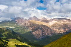 DOLOMIT-ALPEN, ITALIEN Lizenzfreie Stockfotografie