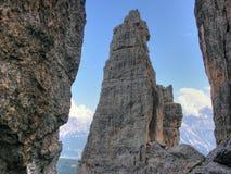 Dolomit-Berge, Italien, Sommer 2009 Stockbilder