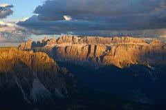 Dolomit góra w Włochy Obrazy Stock