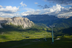 Dolomit góra w Włochy Zdjęcie Stock