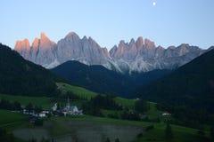Dolomit góra w Włochy Fotografia Royalty Free