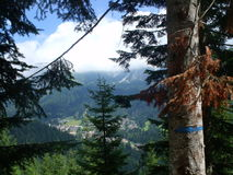Dolomit góry Fotografia Royalty Free