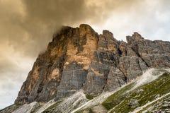 Dolomit góry krajobraz Obraz Stock