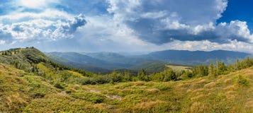 Dolomit halna panorama przy wiosną Obraz Royalty Free