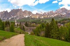 Dolomit, Italien stockbilder