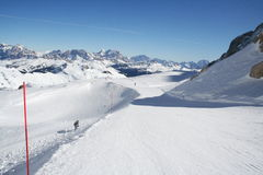 dolomit italien narciarskiego skłon obrazy royalty free