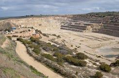 Dolomit kopalnia Zdjęcia Royalty Free