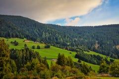 Dolomit nähern sich Cortina dAmpezzo Italien Lizenzfreie Stockbilder
