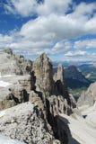 Dolomit piękna skała Zdjęcie Royalty Free