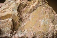 Dolomit rockowa próbka od kopalnictwa i quarrying przemysłów Dol Obraz Royalty Free