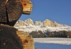 Dolomit: Rosengarten Gruppe Lizenzfreie Stockfotografie