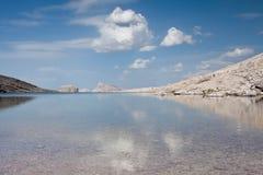Dolomit sehen von der Sella-Gruppe - ITALIEN an Stockbilder