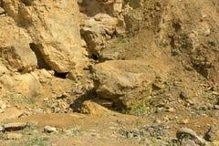 Dolomit skała w starym łupie jak Obraz Royalty Free