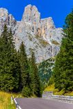 Dolomit skały Zdjęcie Royalty Free