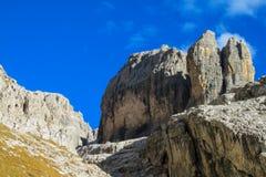 Dolomit skalistej góry ściana Obrazy Stock