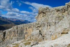 Dolomit skalistej góry ściany krajobraz Zdjęcia Royalty Free