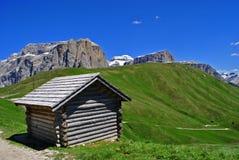Dolomit-UNESCO stockfotos