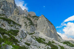 Dolomite Alp mountains Royalty Free Stock Photos