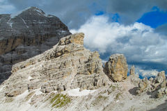 Dolomite Alp mountains Royalty Free Stock Image
