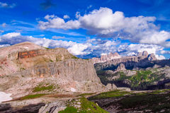 Dolomite Alp mountains Stock Photo