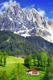 dolomite Alpes italiens Photographie stock