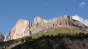 In the Dolomite Alps. A sunny day in the Dolomite Alps Stock Photos
