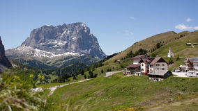 In the Dolomite Alps. A sunny day in the Dolomite Alps Stock Image