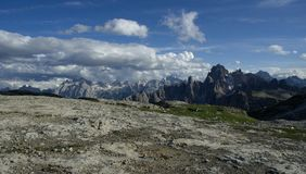 Dolomite Alps Stock Image
