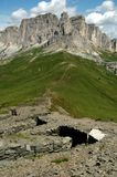 In the Dolomite Alps Royalty Free Stock Images