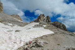 Dolomite Alps Alta Via 1 Royalty Free Stock Photo